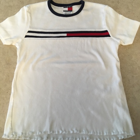 e2c9965ac Tommy Hilfiger Shirts & Tops | Girls Flag Tshirt Size Small | Poshmark